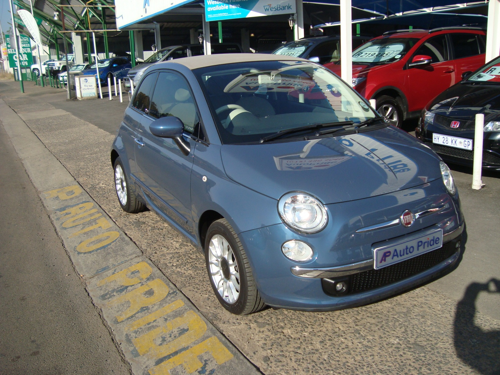 Fiat 500 1.4 Cabriolet (Automatic)