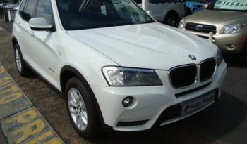 BMW X3 Xdrive20d (Auto) full