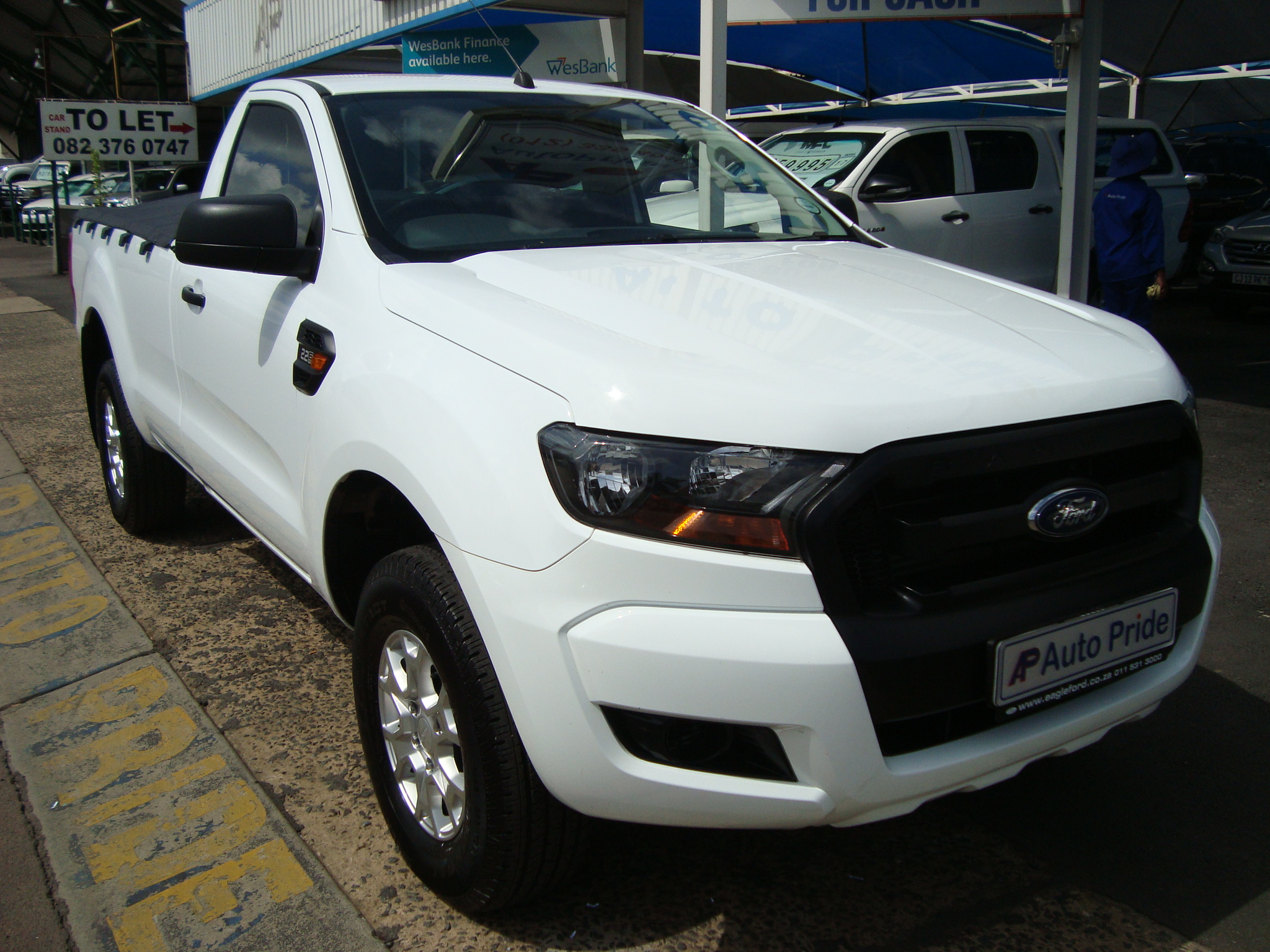 2018 Ford Ranger 2.2TDCi XL Single Cab Bakkie