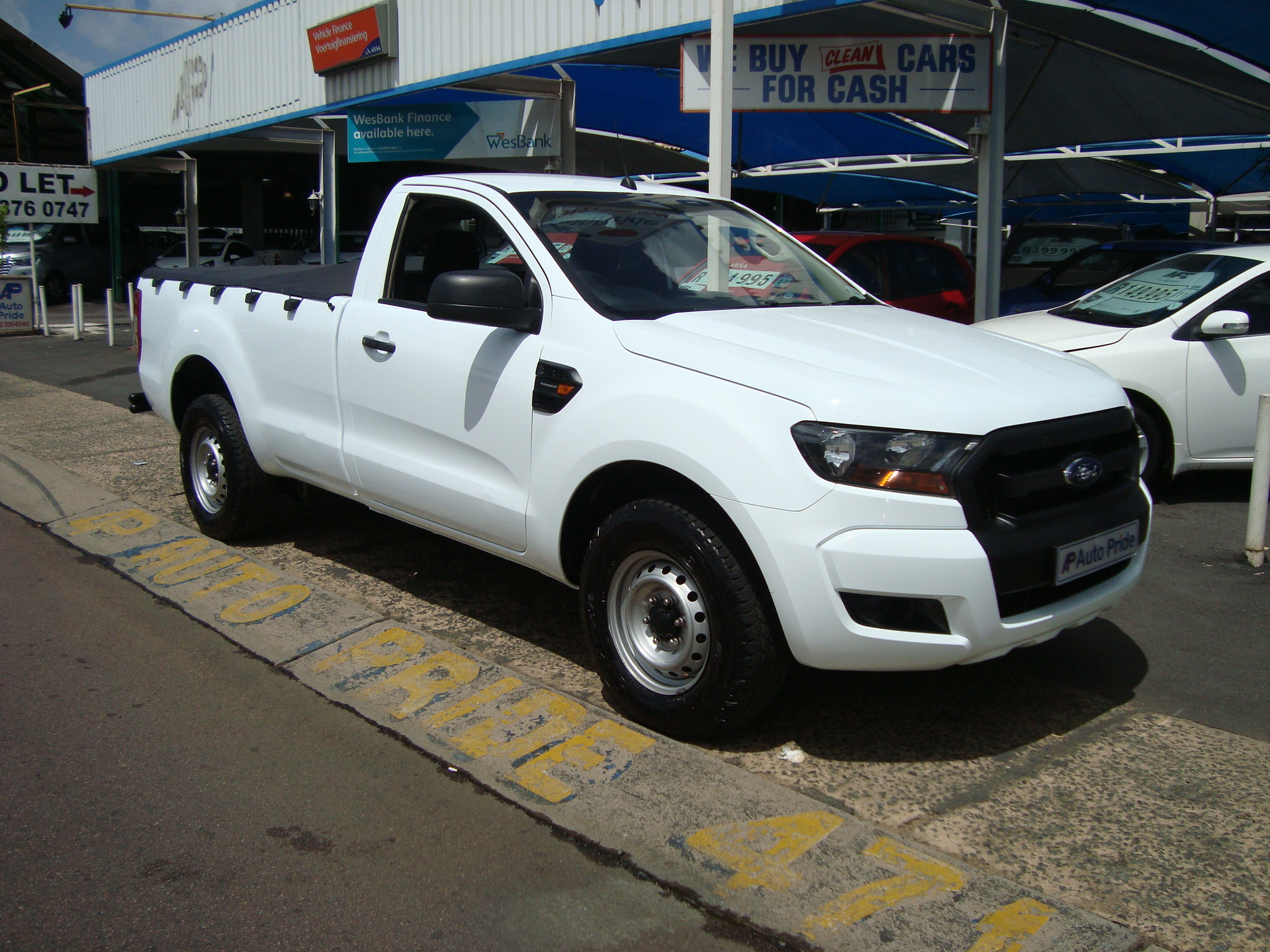 2017 Ford Ranger 2.2TDCi L/R Single Cab Bakkie