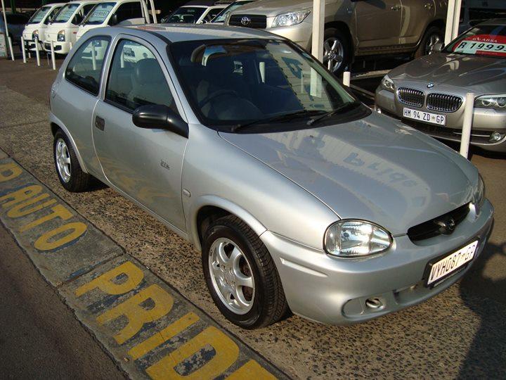 2007 Opel Corsa Lite @ R59 995 http://autopride.co.za/l...