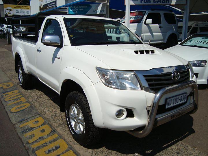 2011 Toyota Hilux 3.0 D-4d Raider 4x4 P/u S/c for sale ...