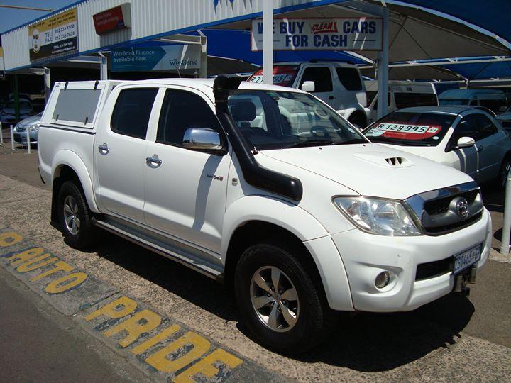 2010 Toyota Hilux 3.0 D-4d Raider 4×4 P/U D/C (AUTO) @ ...