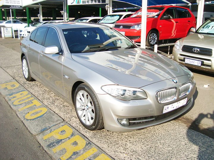 2012 BMW 5 Series 520i A/t (f10)  for only R179 995  10...