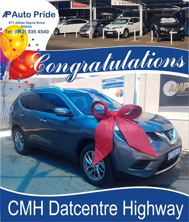 Congratulation with your new car CMH Datcentre Highway!
