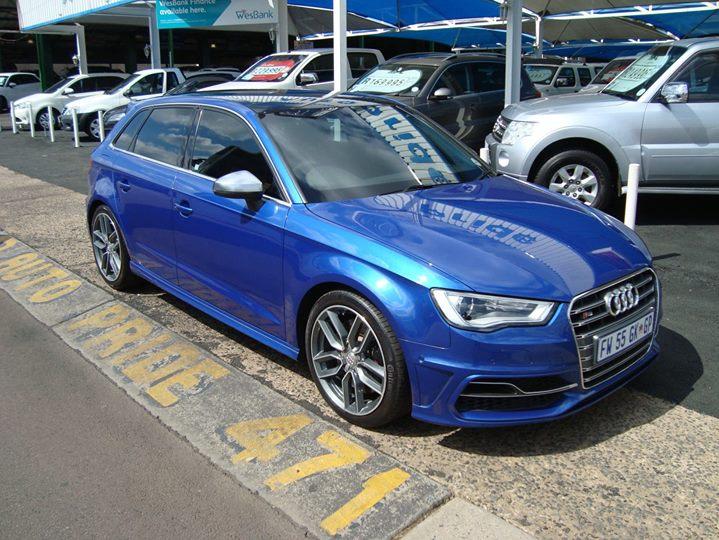 2015 Audi S3 Sportback Stronic for sale in Gauteng @R45...