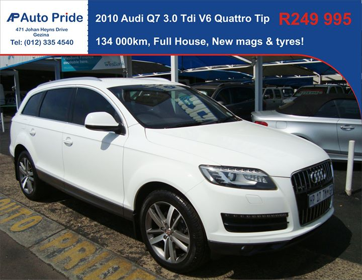 Will it be an Audi Q7 or BMW X5? This could be your sty...