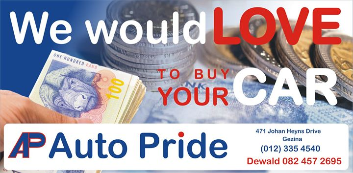 https://autopride.co.za/sell-your-car/  Whatsapp Or Call...