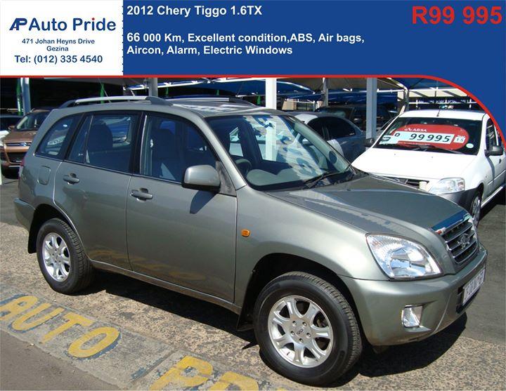 http://autopride.co.za/listings/chery-tiggo-1-6-tx/  Fo...