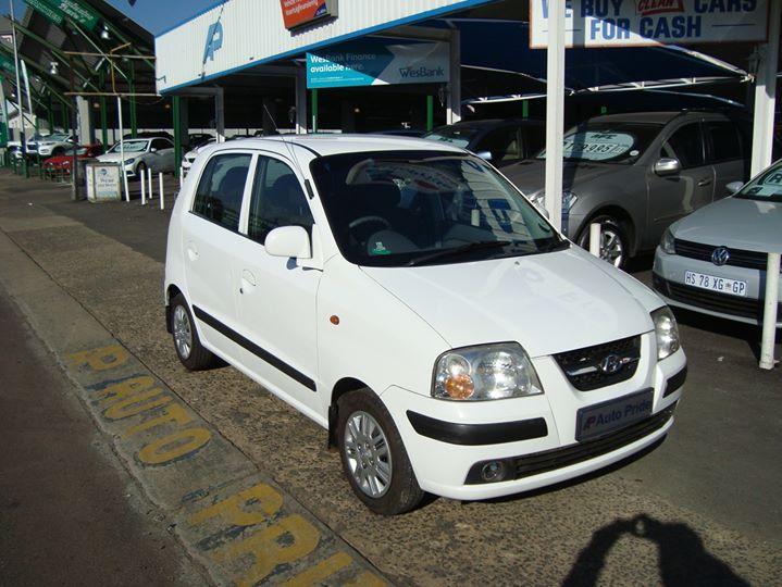 2007 Hyundai Atos Prime 1.1 GLS AT, White with 75000km ...