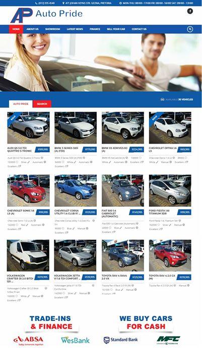 Visit our showroom www.autopride.co.za   Call Harm! htt...